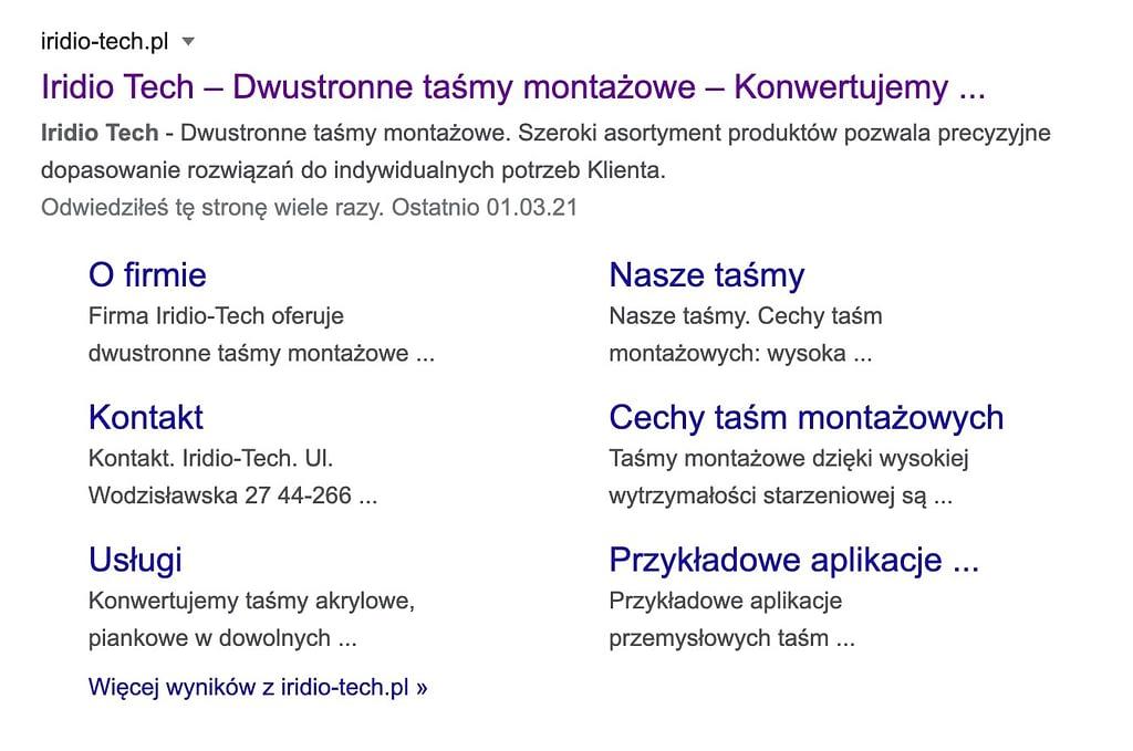 Wyniki wyszukiwania dla frazy iridiotech