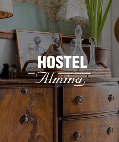 strona www hostel Almina 4ad studio