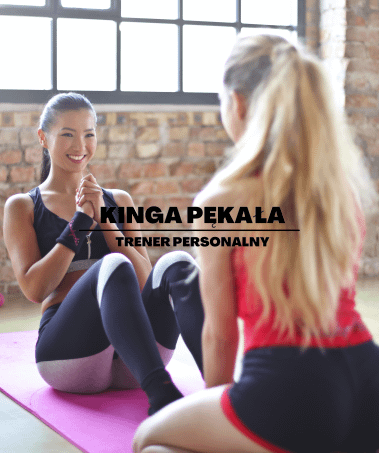 Kinga Pękała trener personalny